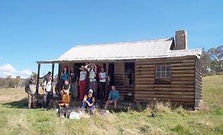 Greystanes teachers and students at Daveys Hut - B0000124.jpg