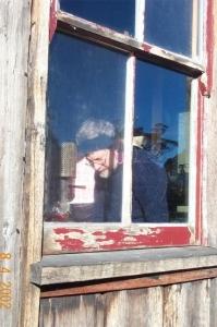 Poet in residence at Burrungubugee Hut - B0001472.jpg