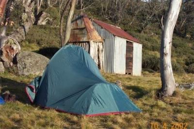 Terrys tent at Kidmans. - B0001473.jpg