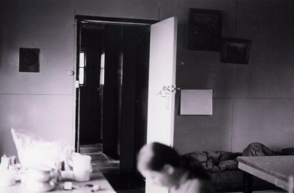 Towards the bedrooms 1977- huts0015.jpg