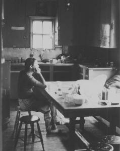 Kitchen / dining room 1977  - InsideAlbina1977websize.jpg