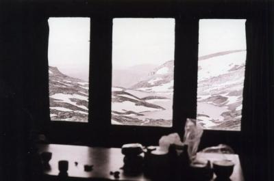 View of Lake Albina 1977 - huts0016.jpg