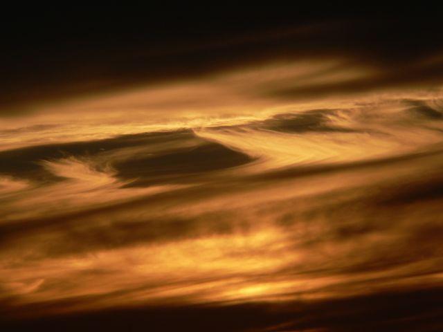 Clouds at sunset - P1080619.JPG