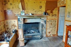 2012 The new fireplace - a bit smaller than the old one - New fireplace a.JPG