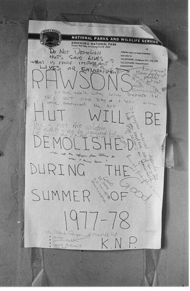 Notice inside Rawson about its removal 1977 - SigninRawsons1977websize.jpg