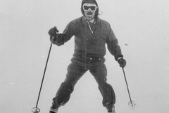 1970 Practising outside Seamans Hut - Old Ski Photos0002 c  a.jpg