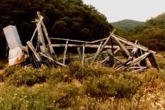 Ruins at head of Pretty Plain 1986 - McPhee Hut - Ruins_Pretty_Plain1986.jpg