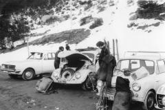1970 Guthega car park - getting ready - Old Ski Photos0008c  a.jpg